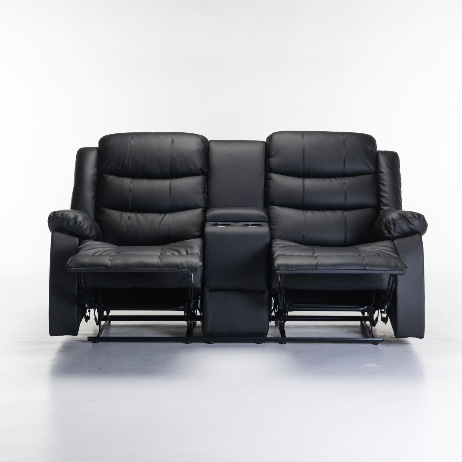 Yuzi 2 Seater with Console Recliner