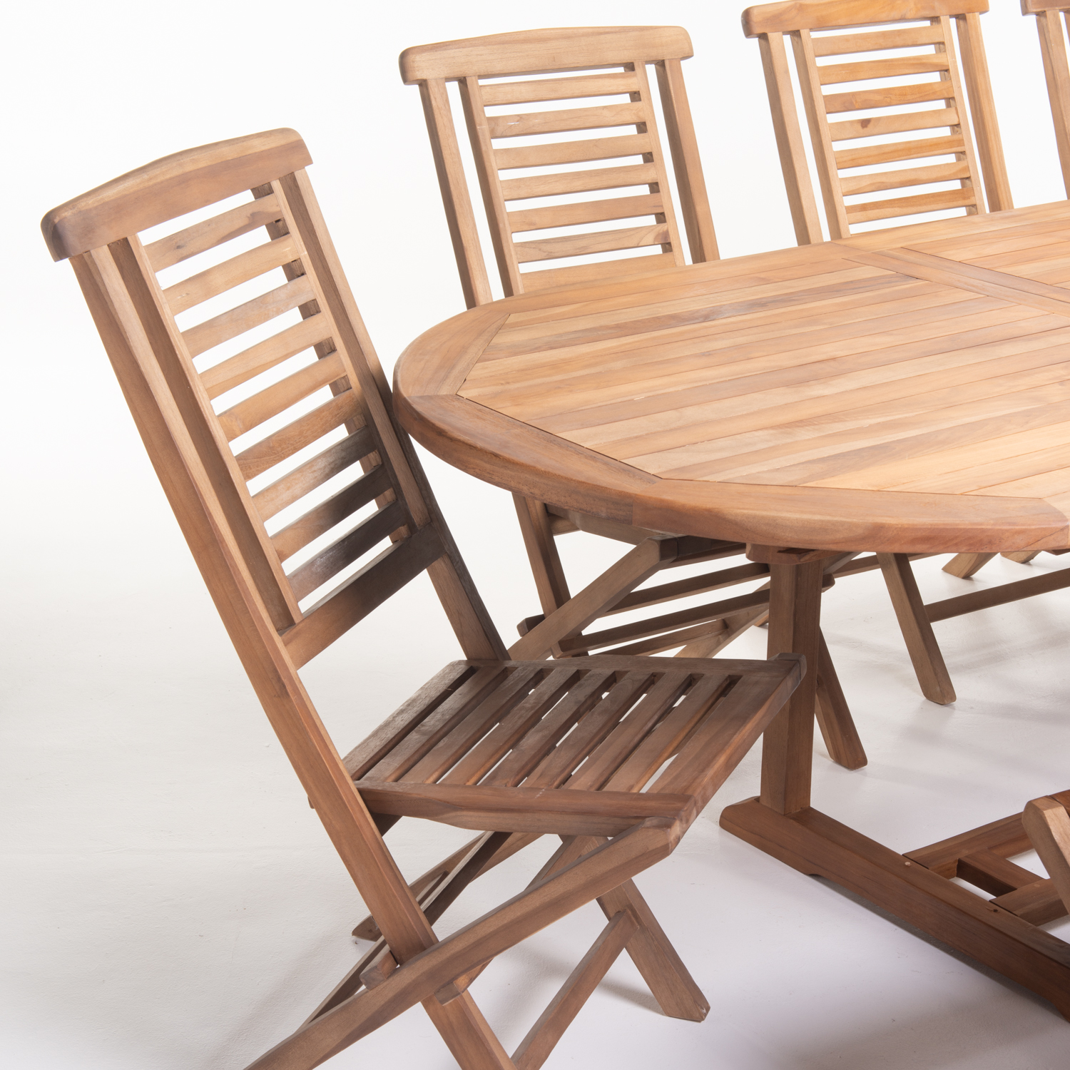 9PC HANTWON TEAK SET
