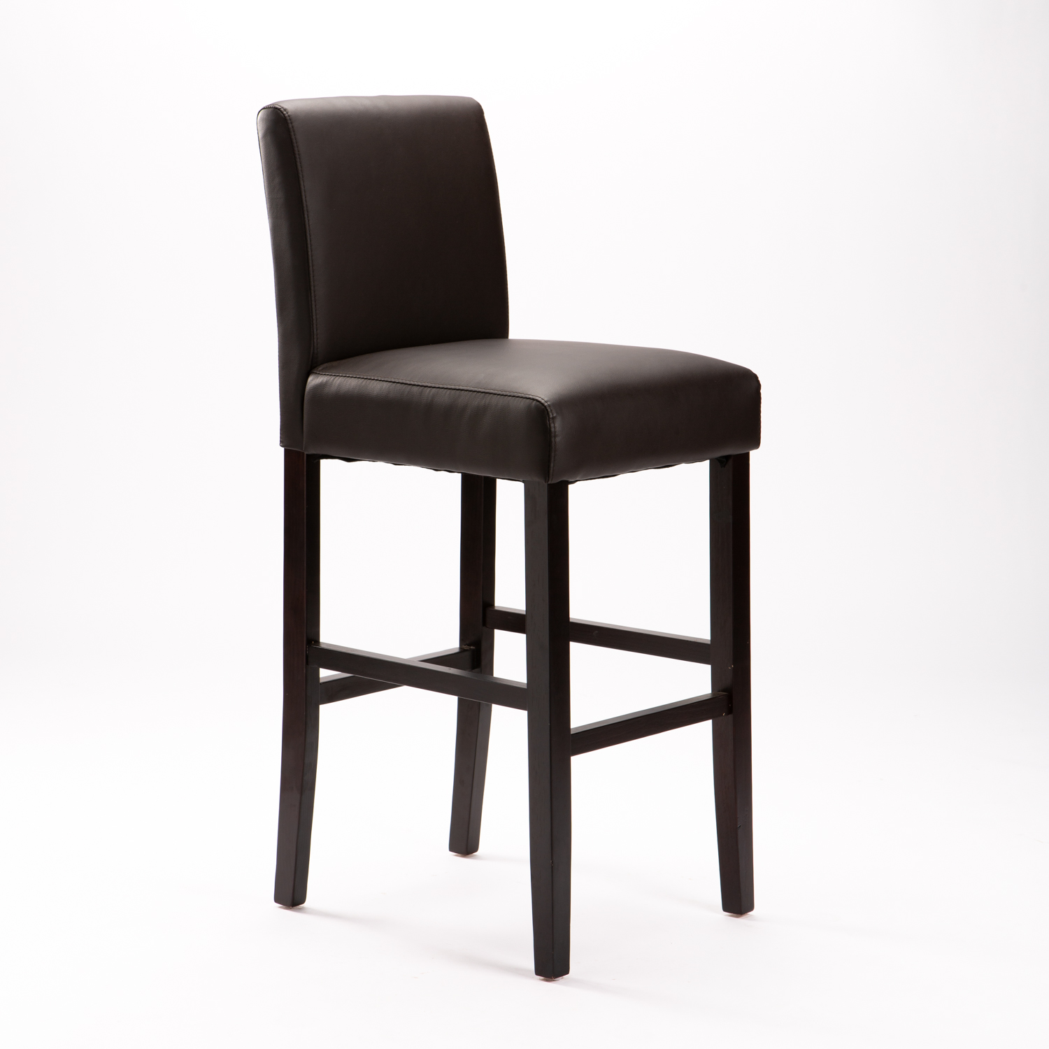 Tom Leather Touch Barstool - Brown