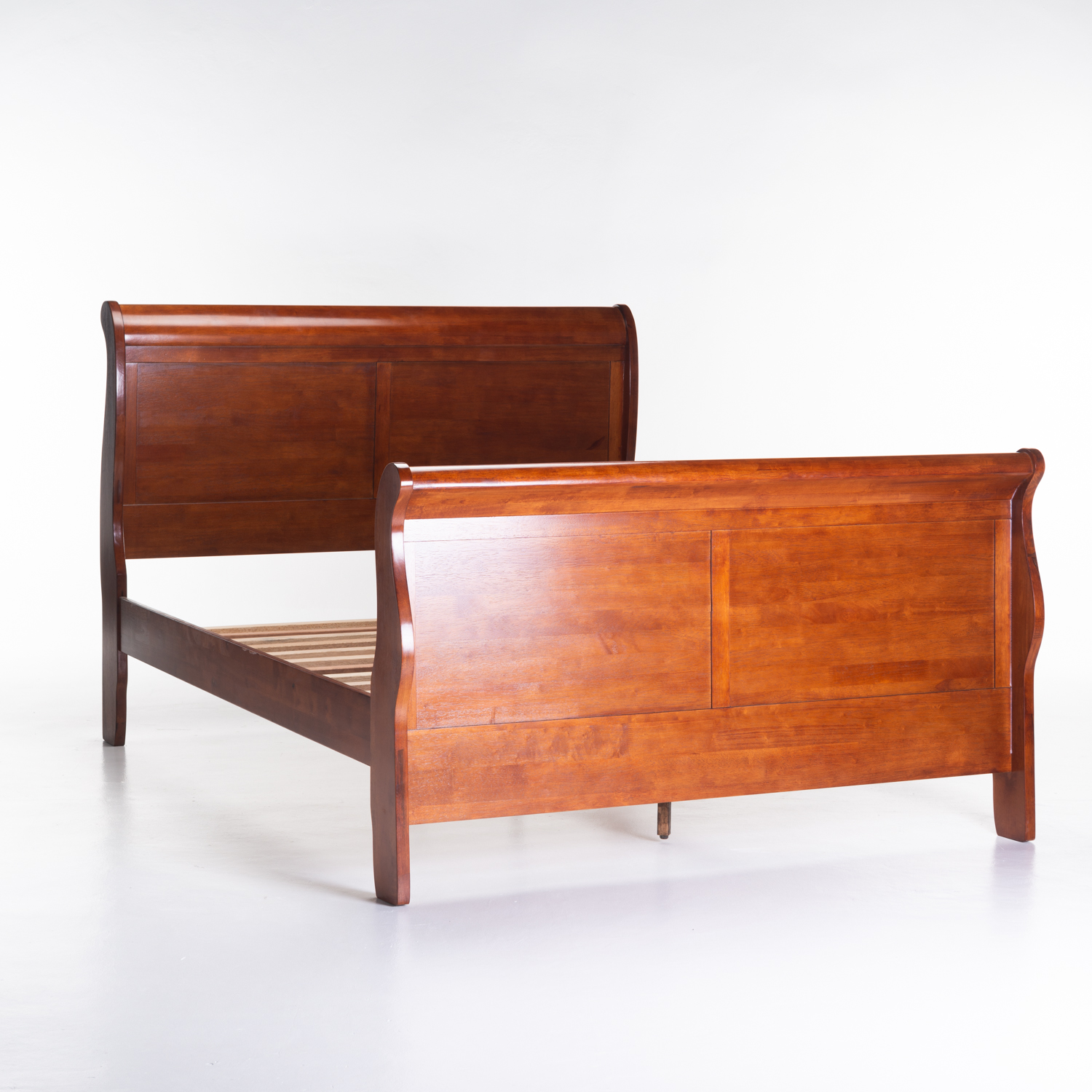 DIANA WOODEN SLEIGH BED