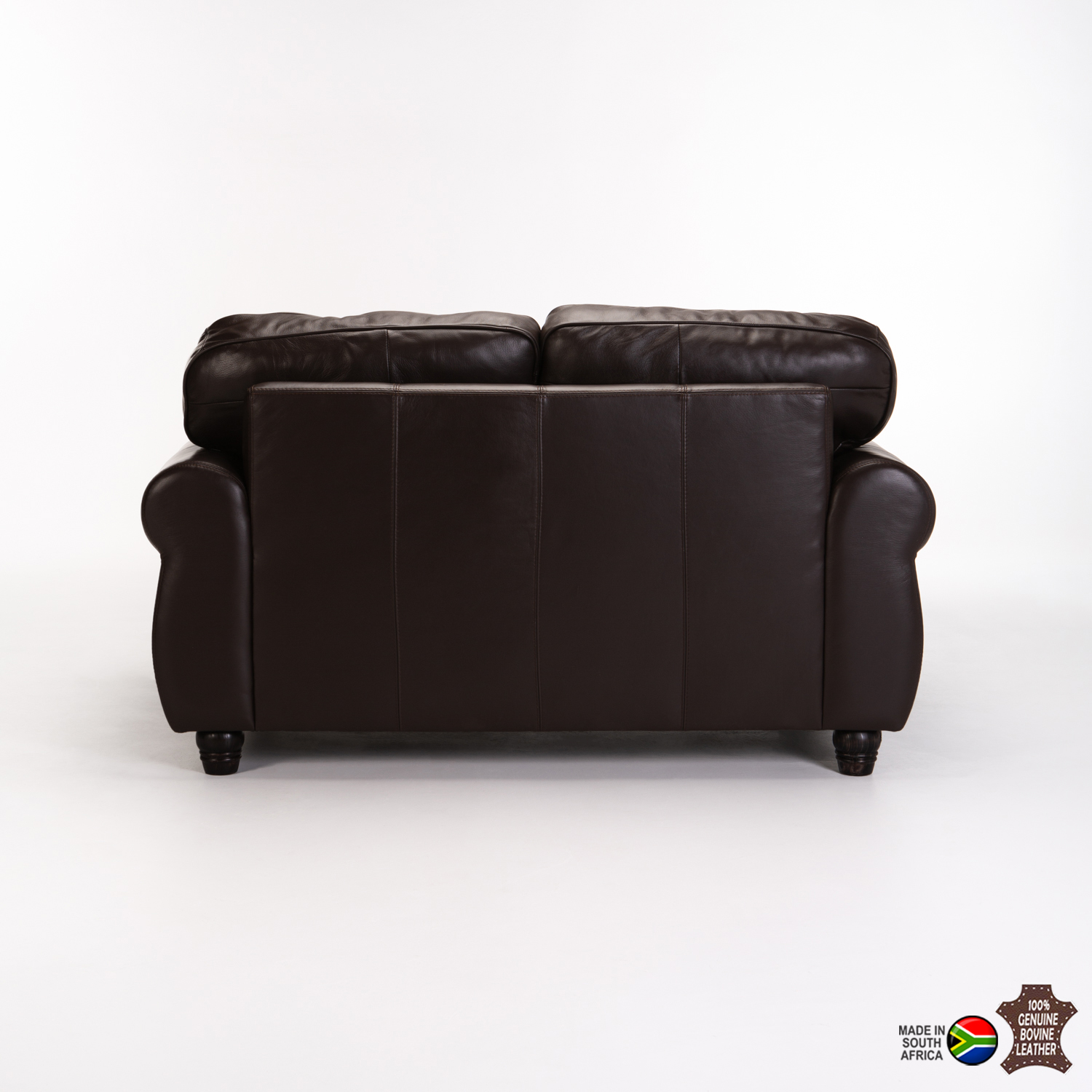 KINGSLEY GENUINE LEATHER 2 SEATER
