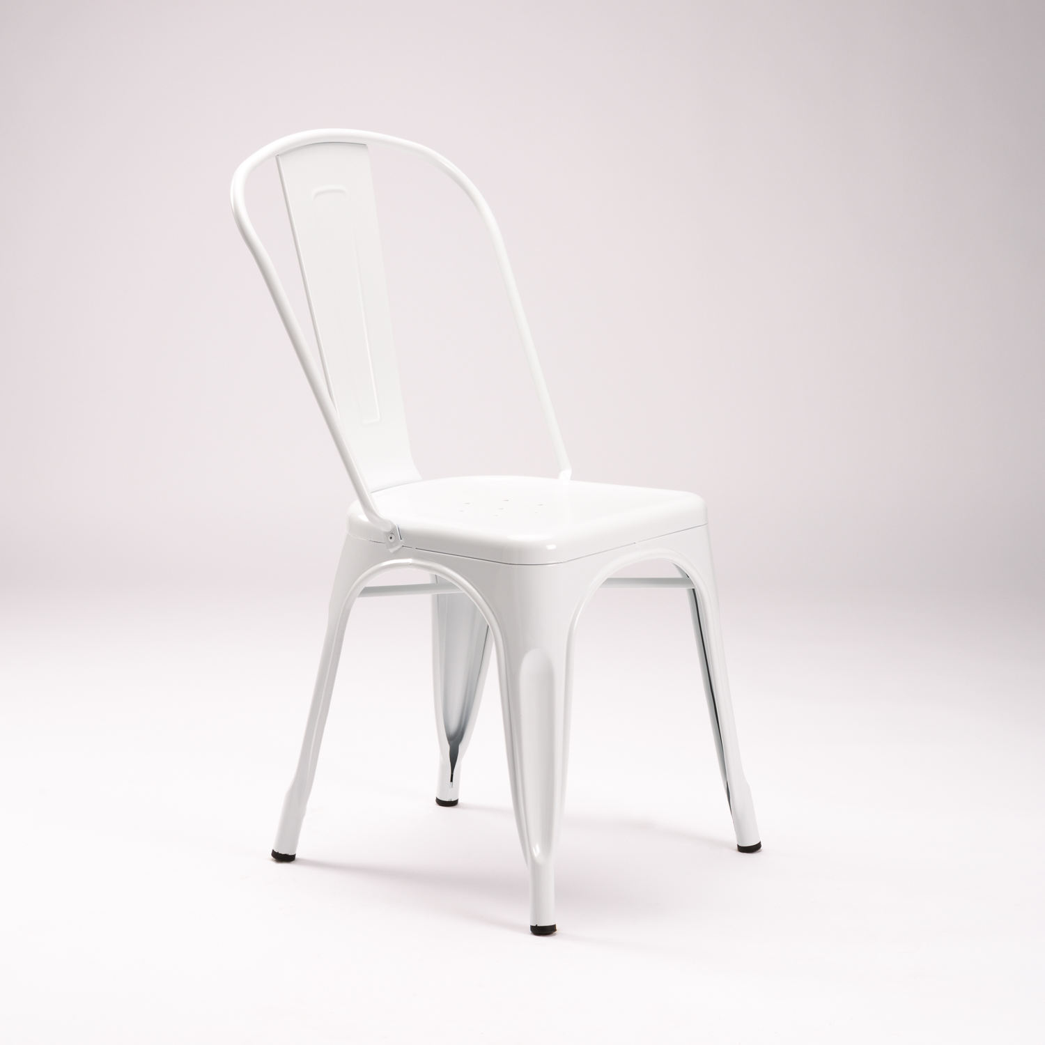Tolix Dining Chair - White