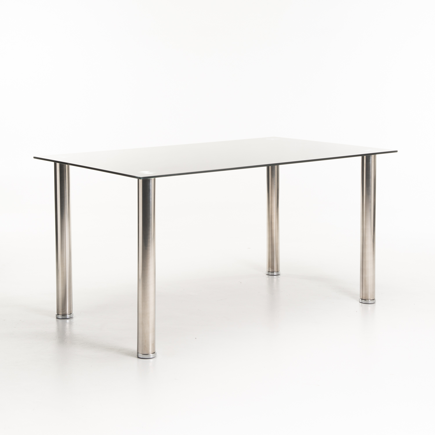 Dior Black Glass Dining Table