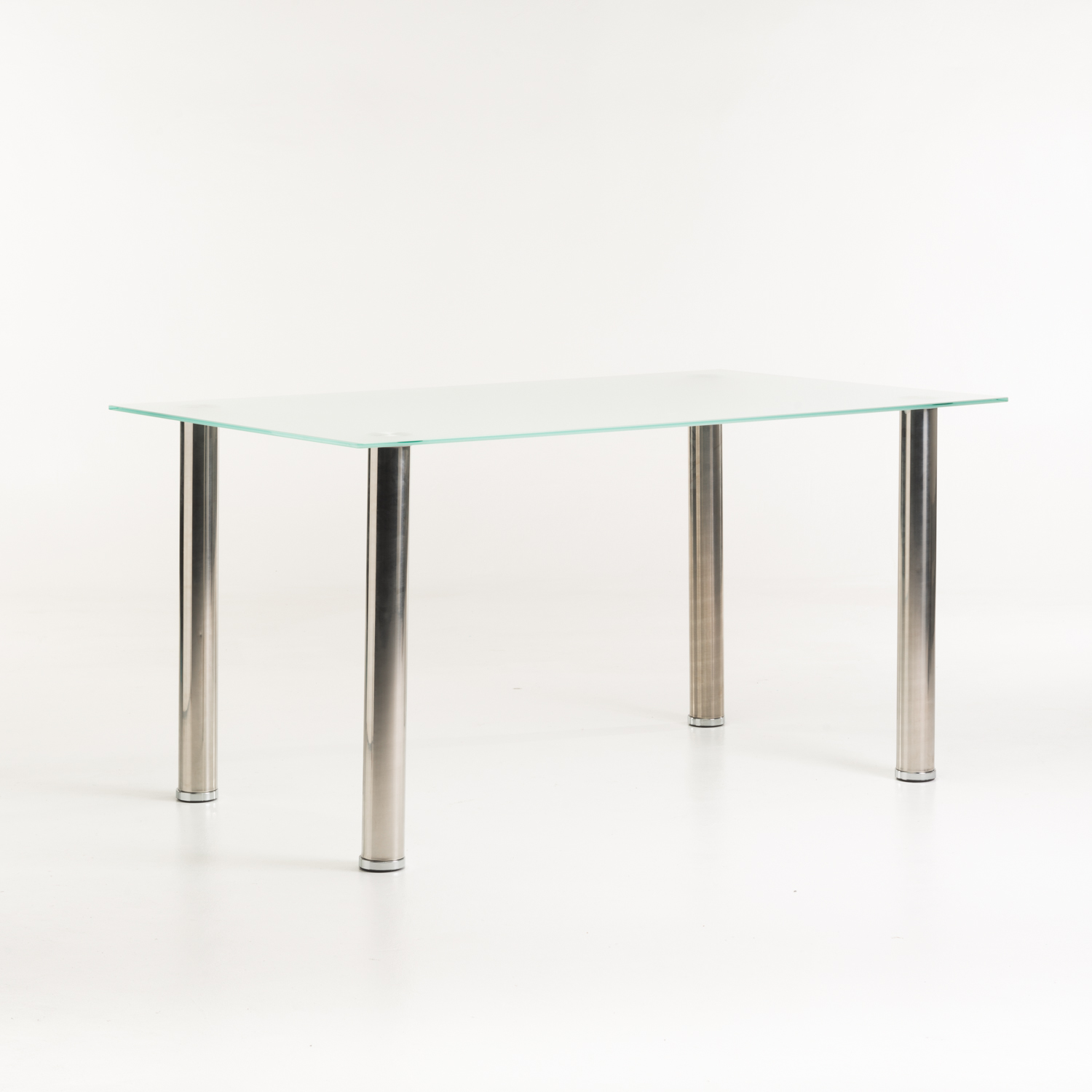 Dior Frosted Glass Dining Table