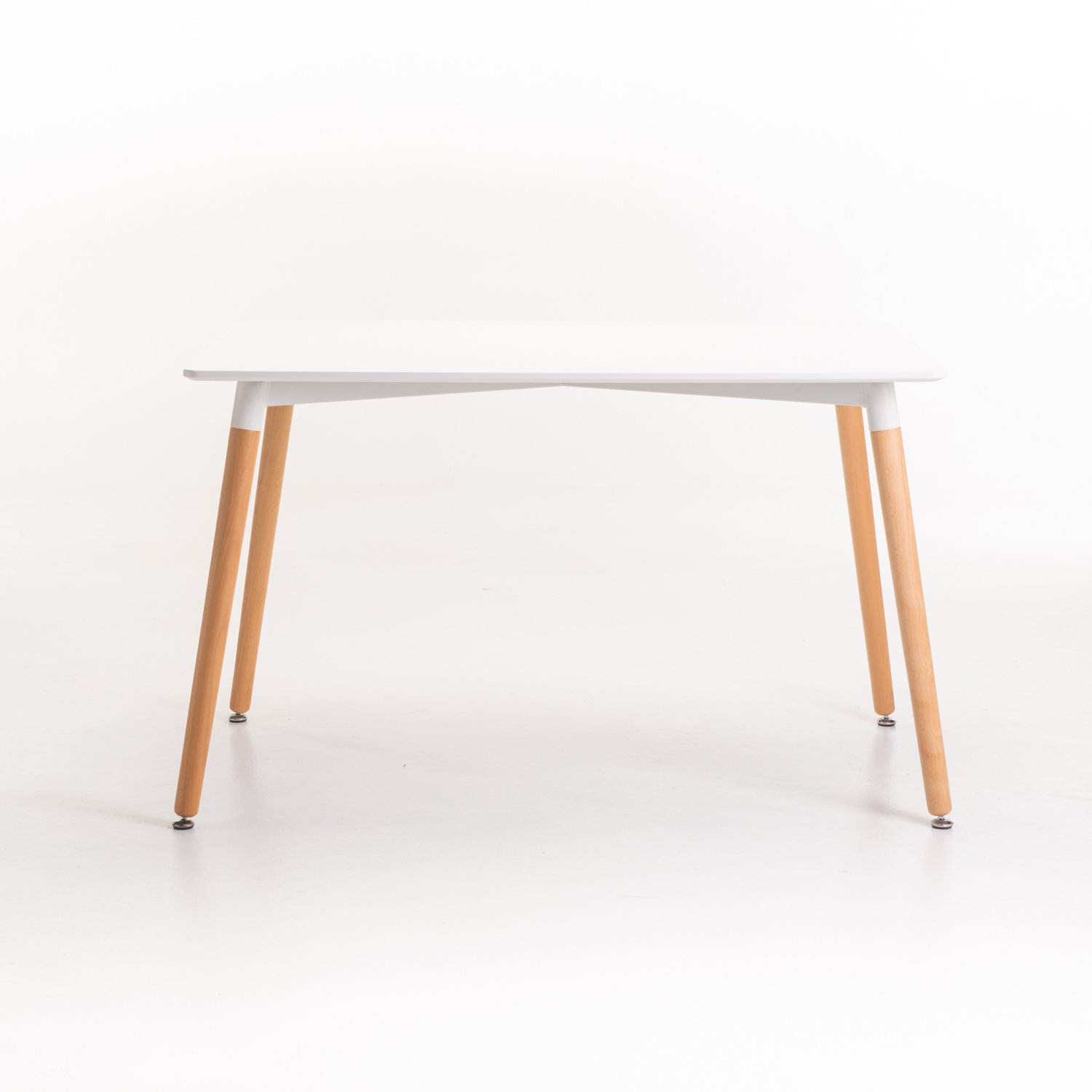 BELLA WOODEN LEG DINING TABLE
