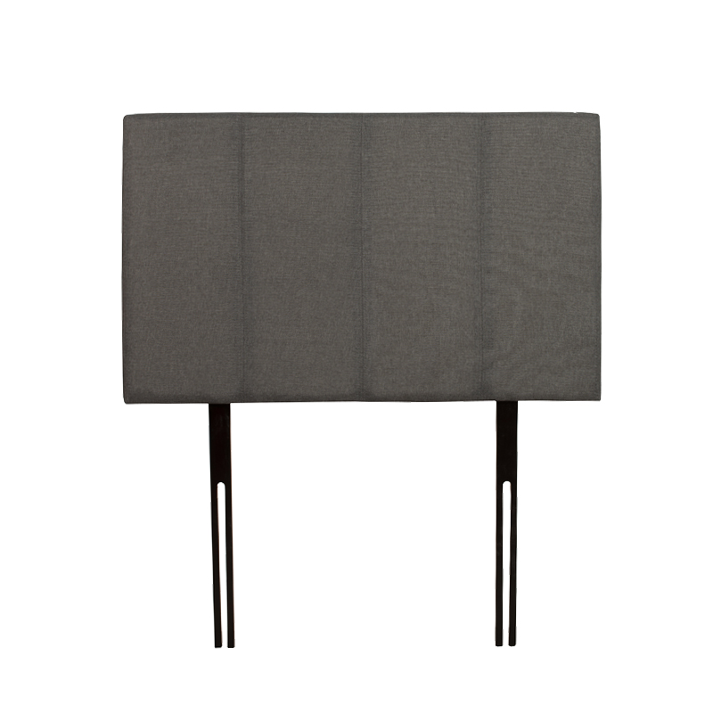 JANE FABRIC SINGLE HEADBOARD - GREY