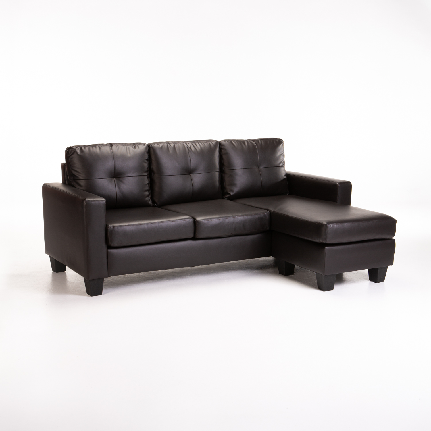 JOMO LEATHER TOUCH CORNER CHAISE