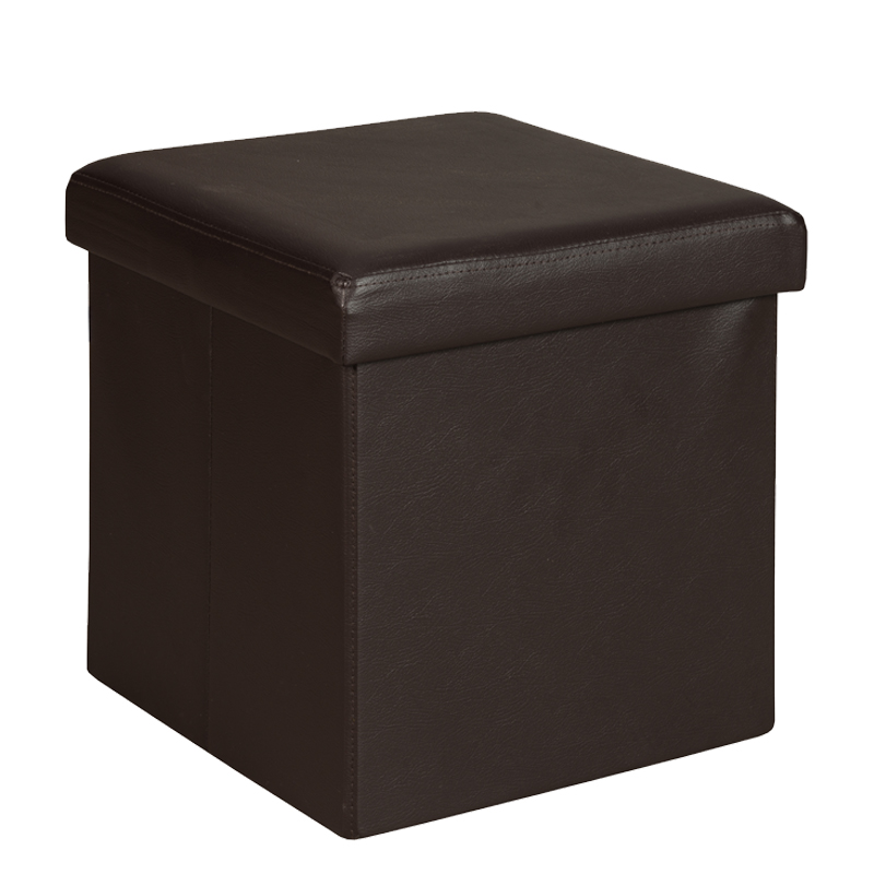 Ottomans Lifestyle Single Ottoman: Decofurn Furniture :: KIA LEATHER TOUCH SINGLE OTTOMAN