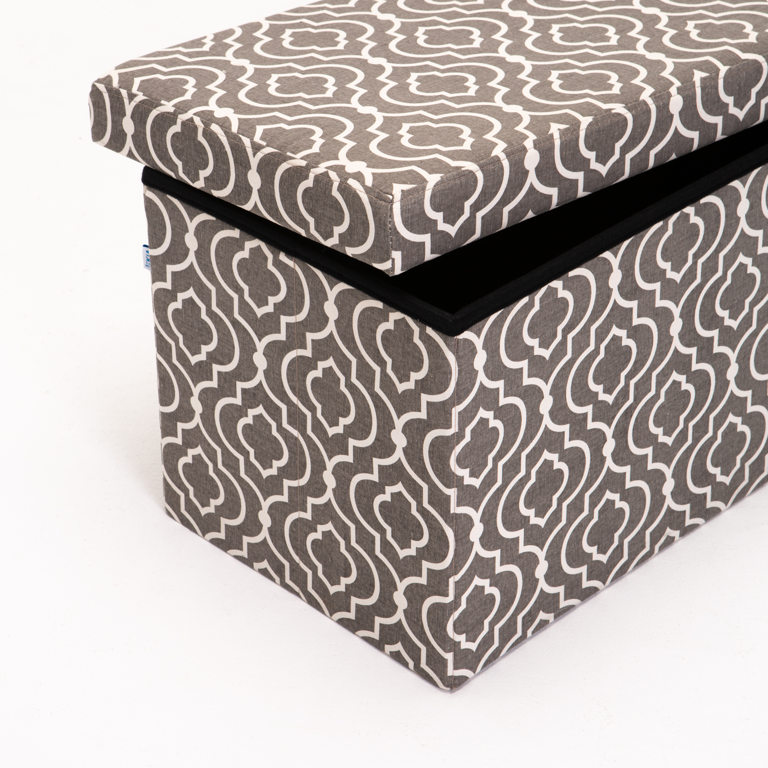 KIA FABRIC DOUBLE OTTOMAN