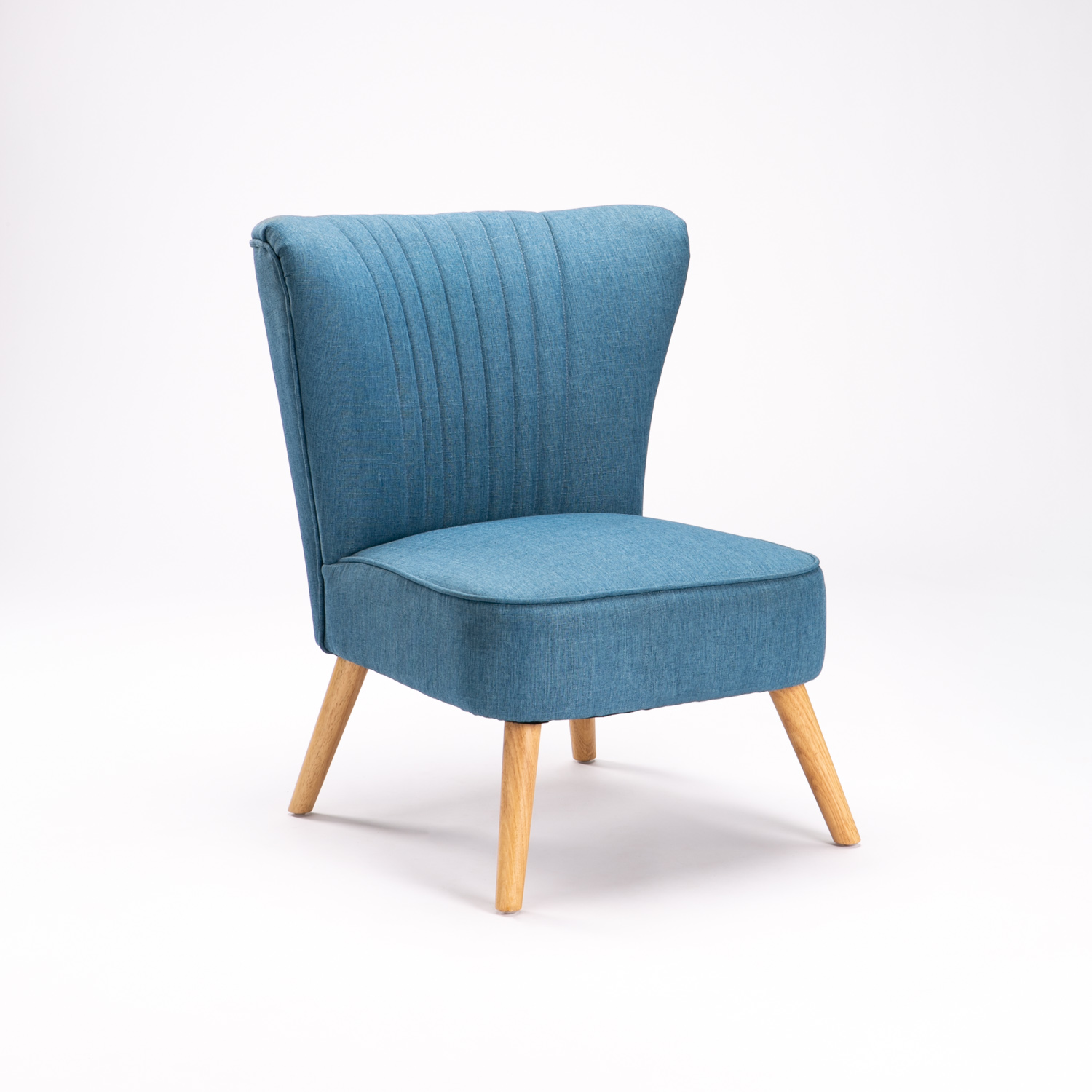 Shell Fabric Chair - Teal