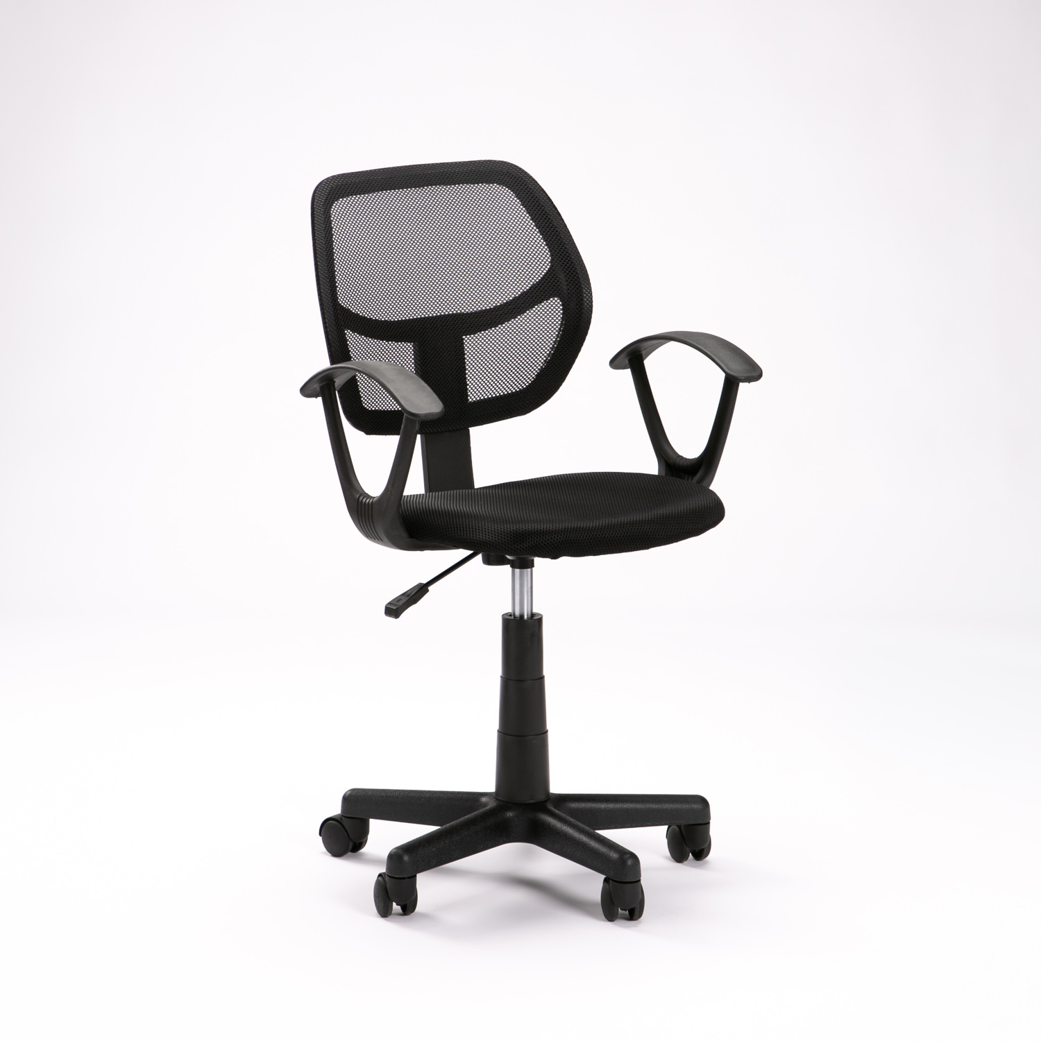 Office Chair Of556 With Arms - Black