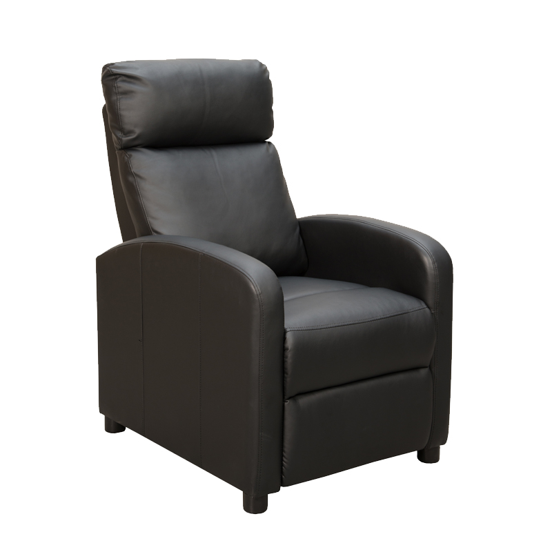 Decofurn Furniture Ron Leather Touch Armchair Recliner