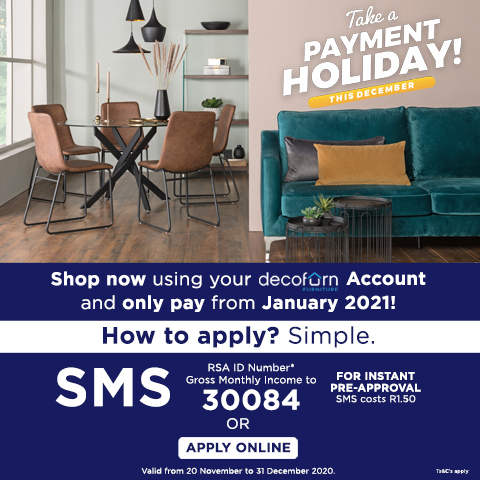 Decofurn Credit - Buy Now Pay Later Promo 2020