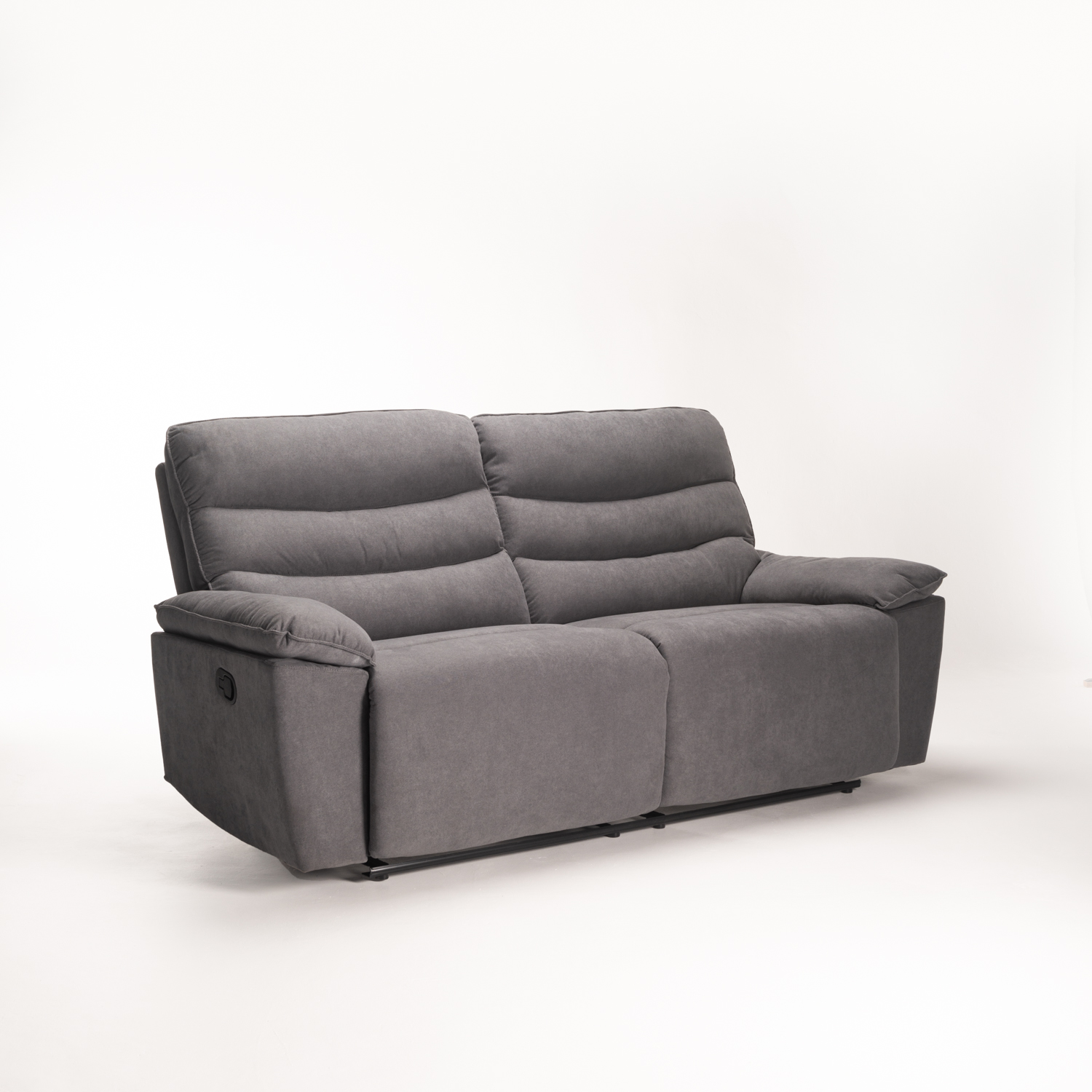 PORTO FABRIC 3 SEATER RECLINER