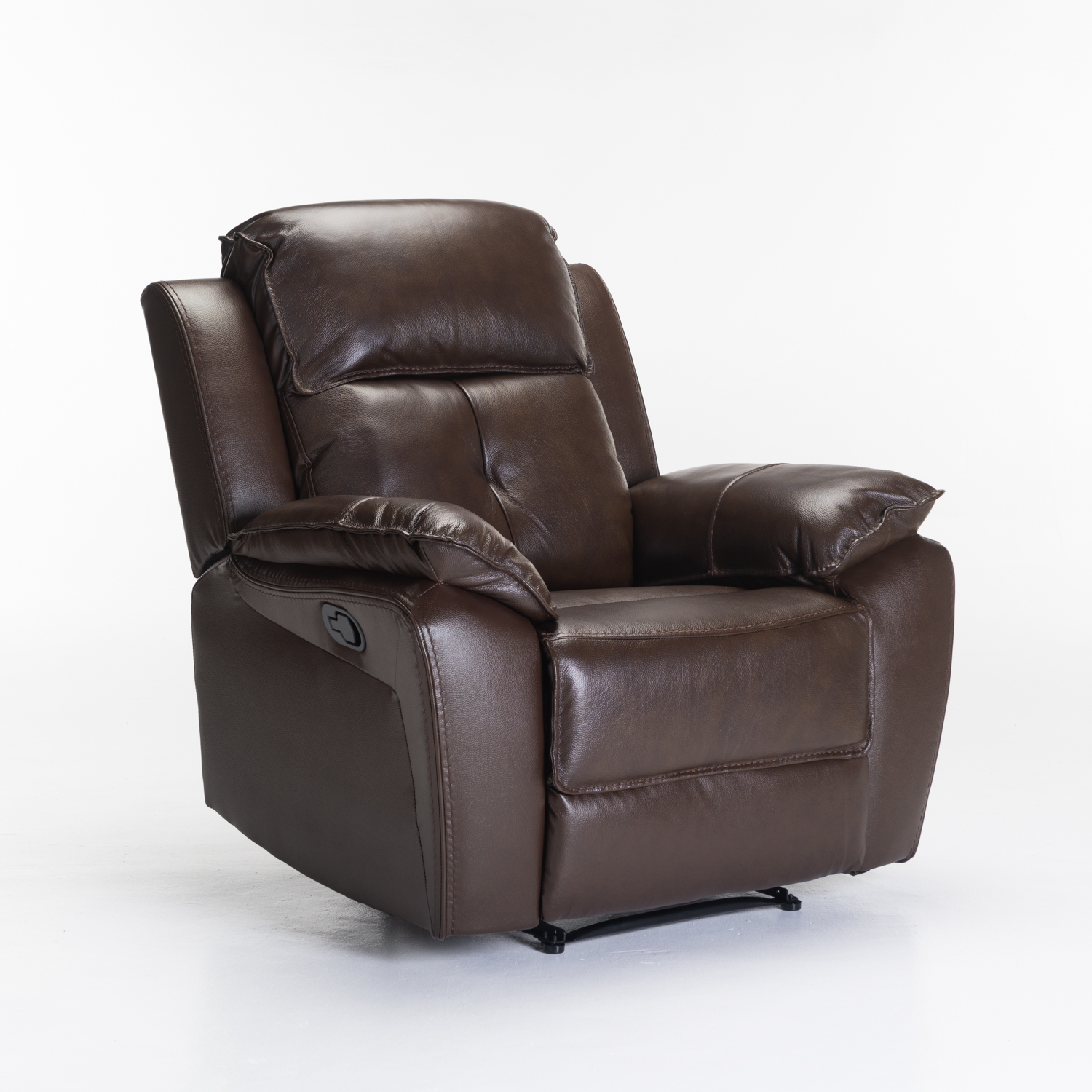 COMO TOP LEATHER UPPER ARMCHAIR RECLINER