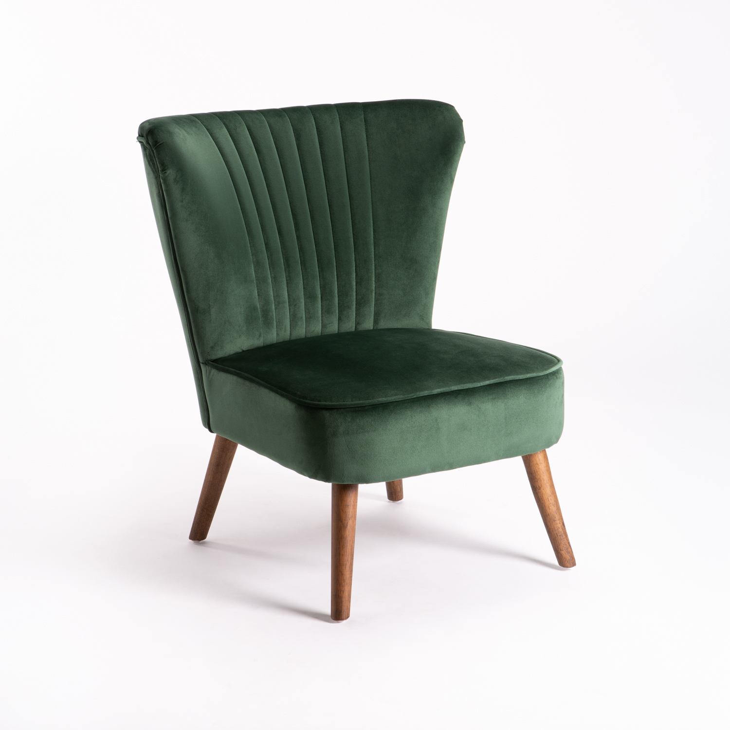 SHELL VELVET CHAIR
