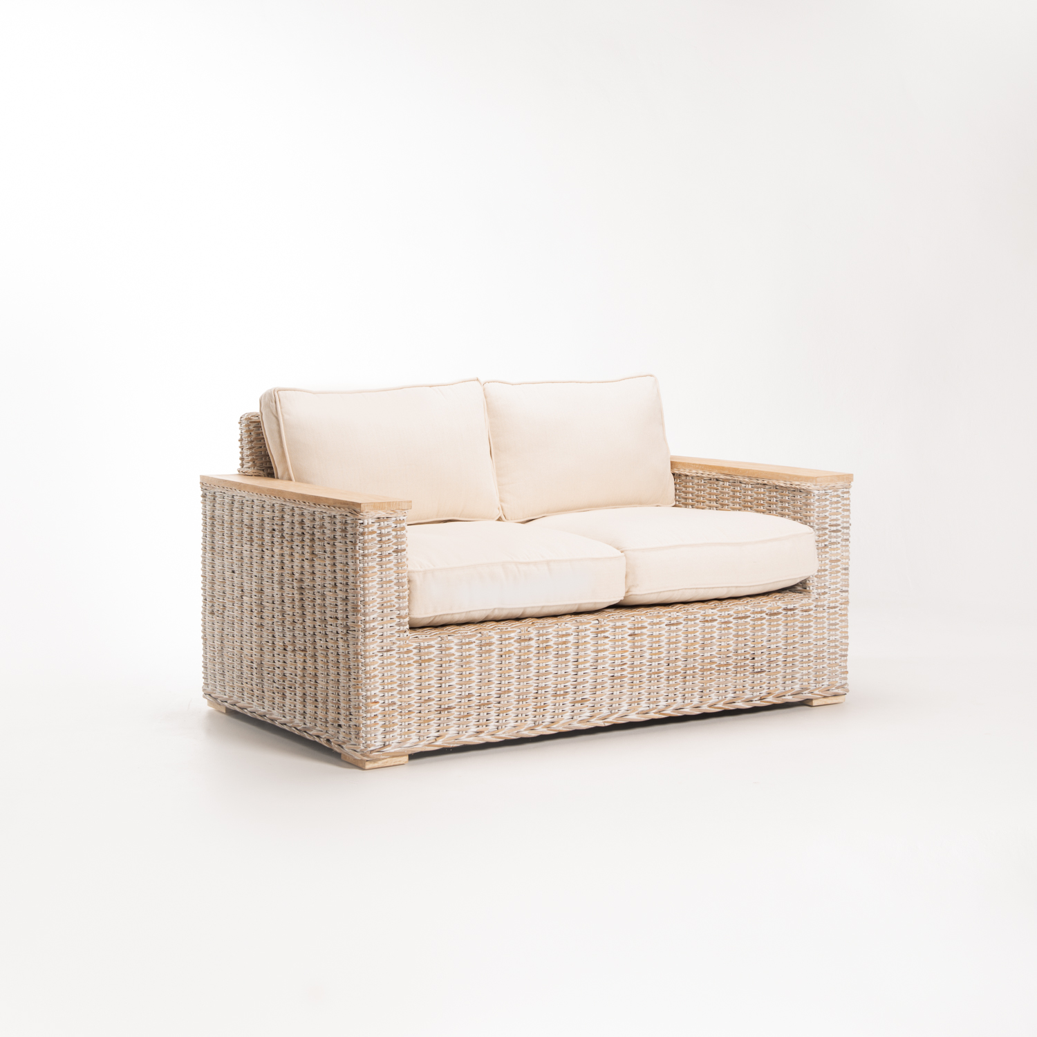 TEGAL KUBU WHITEWASH 2 SEATER