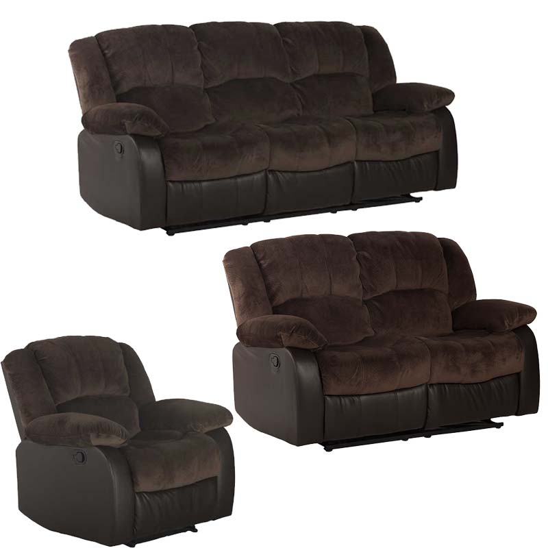 BLAKE 3 PIECE RECLINER SET