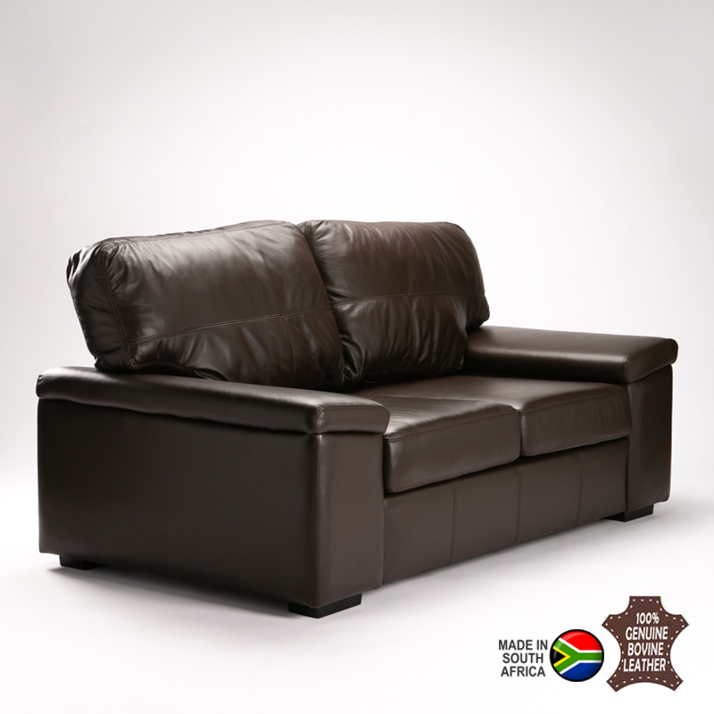 ASTEN GENUINE LEATHER 3 SEATER