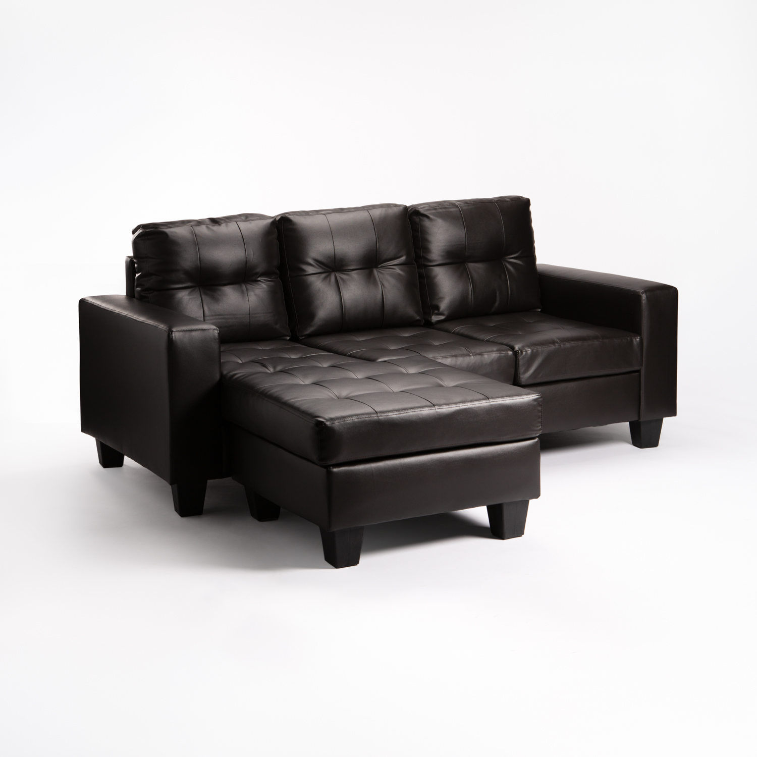 BONNIE LEATHER TOUCH CORNER CHAISE