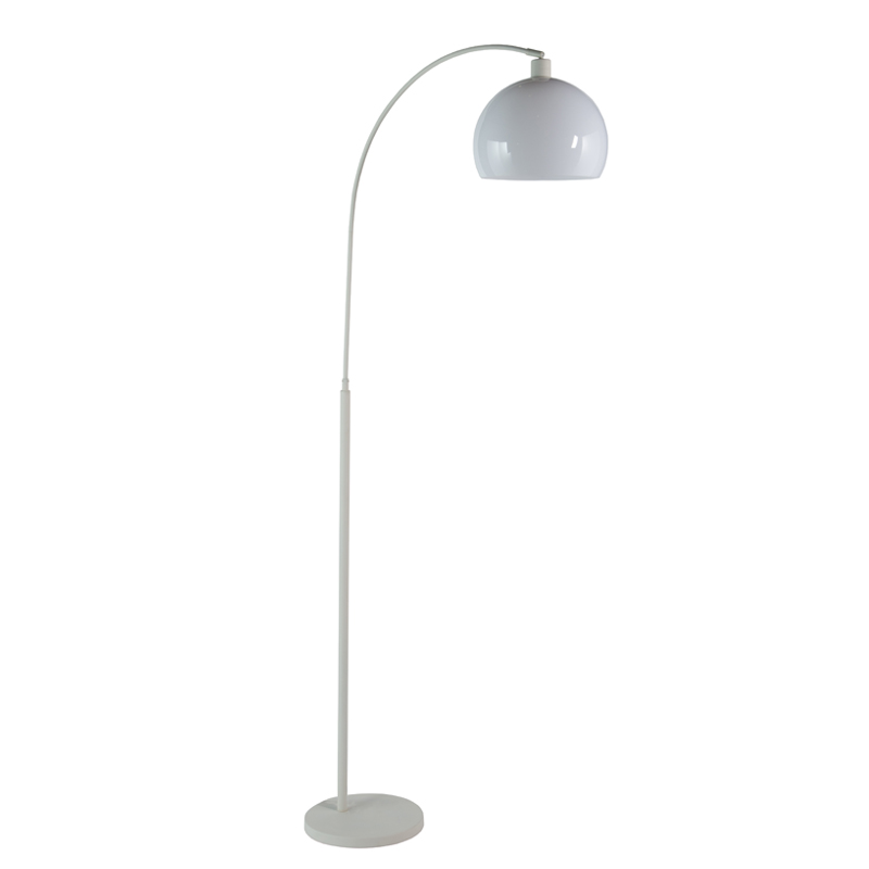 Decofurn Furniture Lamp Floor White Arc White Acrylic