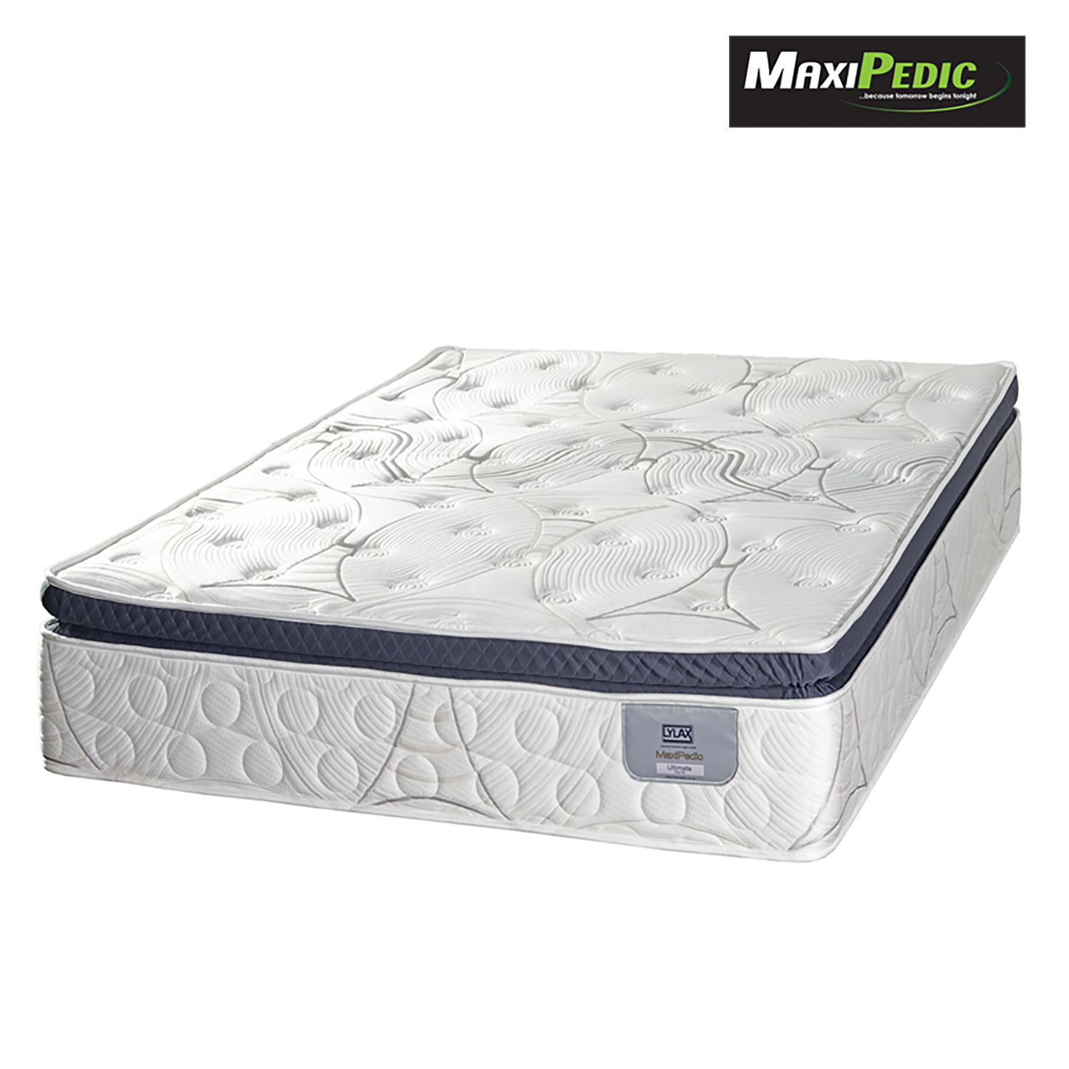 MAXIPEDIC ULTIMATE PILLOW TOP MATTRESS