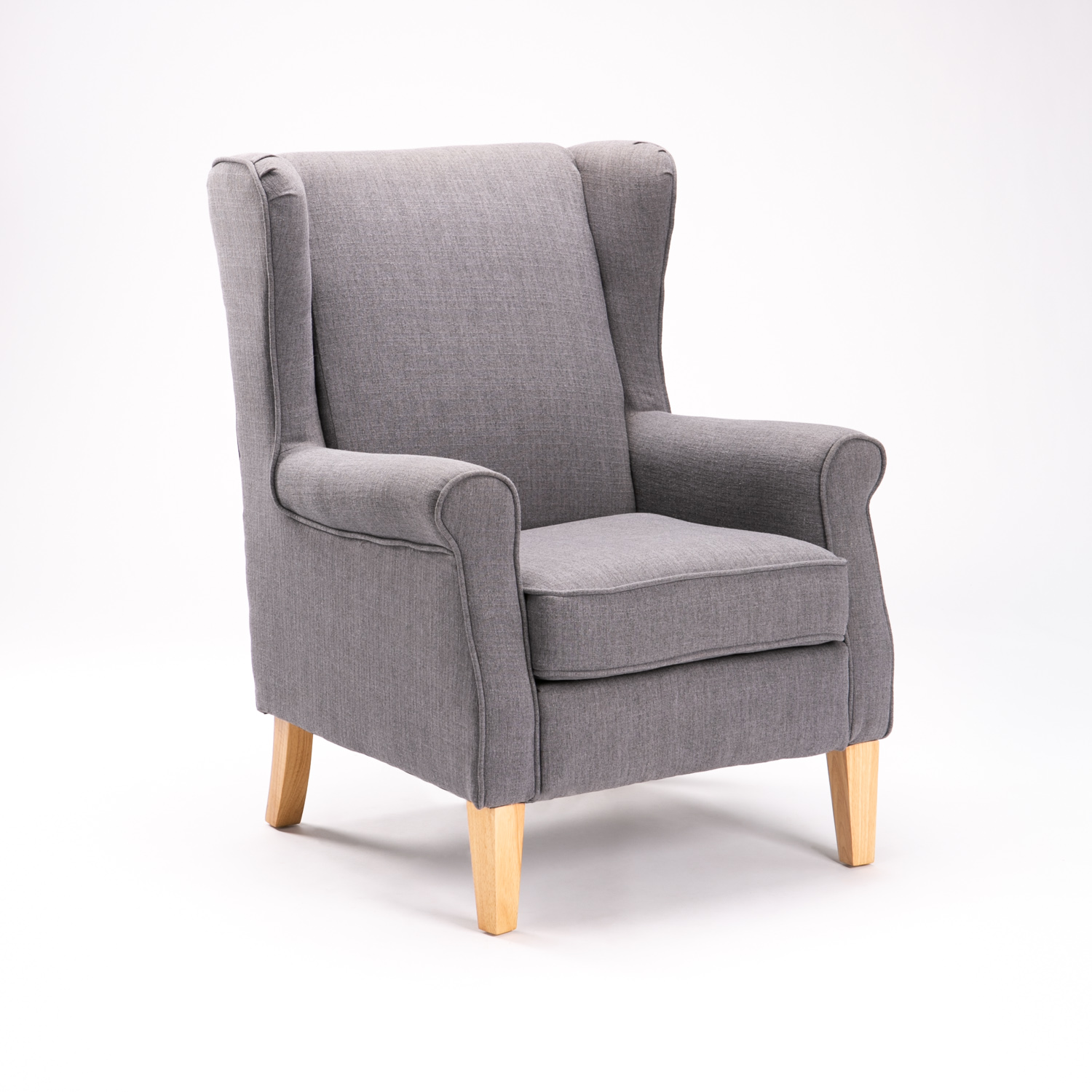 SAM FABRIC WINGBACK ARMCHAIR