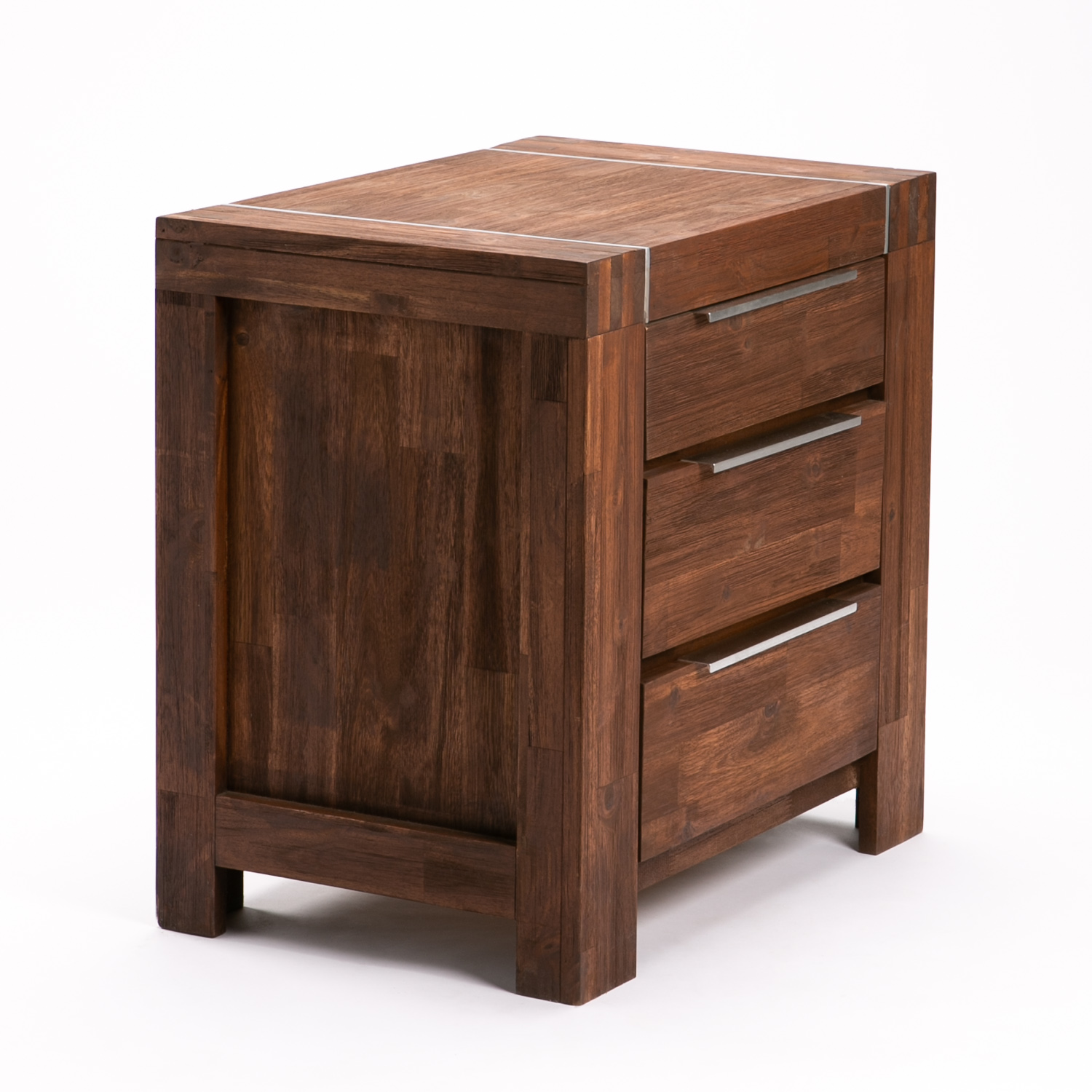 GLACIER 3 DRAWER PEDESTAL