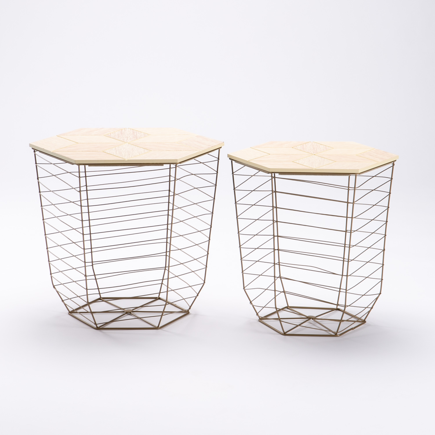 CLEO SET OF 2 TABLES