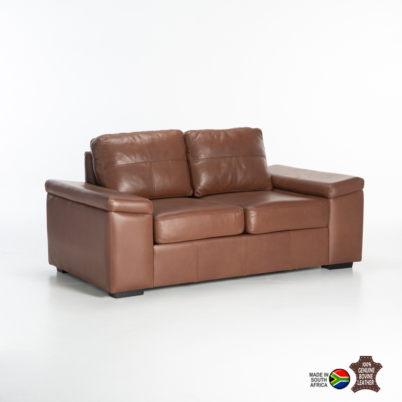ERICA GENUINE LEATHER 2 SEATER