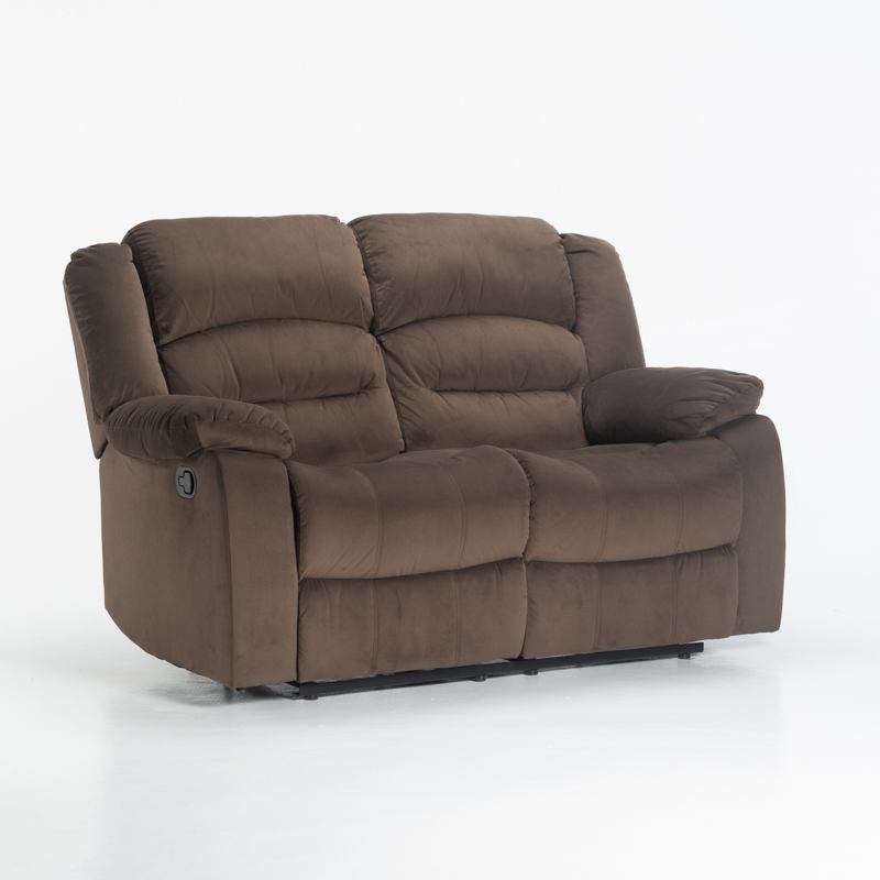 UZI FABRIC 2 SEATER RECLINER