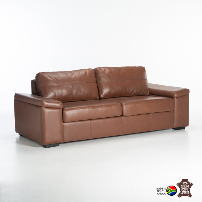 ERICA GENUINE LEATHER 3 SEATER