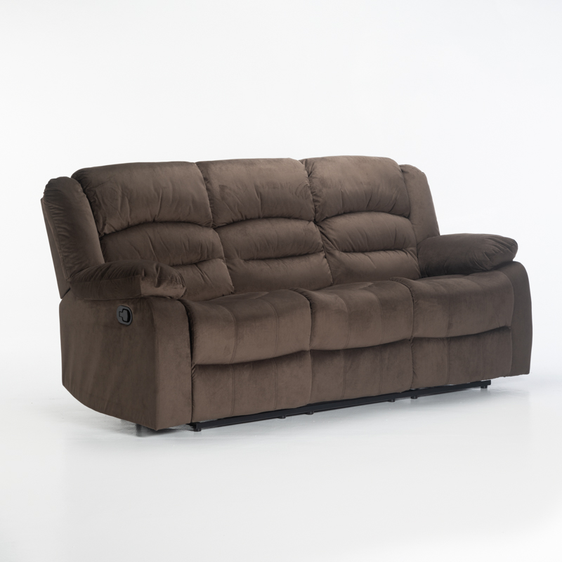 UZI FABRIC 3 SEATER RECLINER