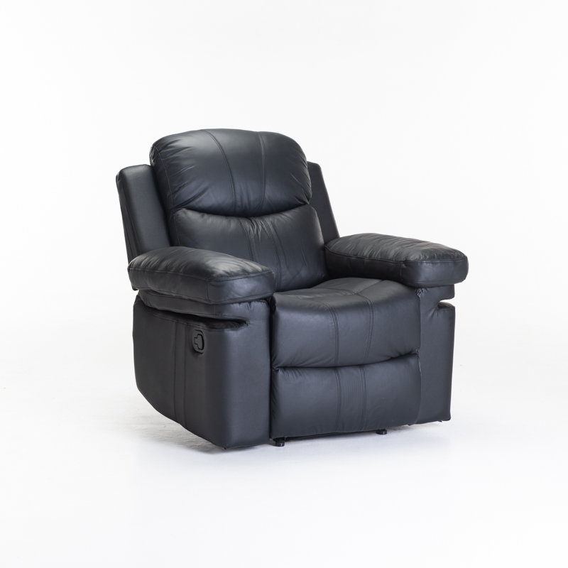 RIO TOP LEATHER UPPER ARMCHAIR RECLINER