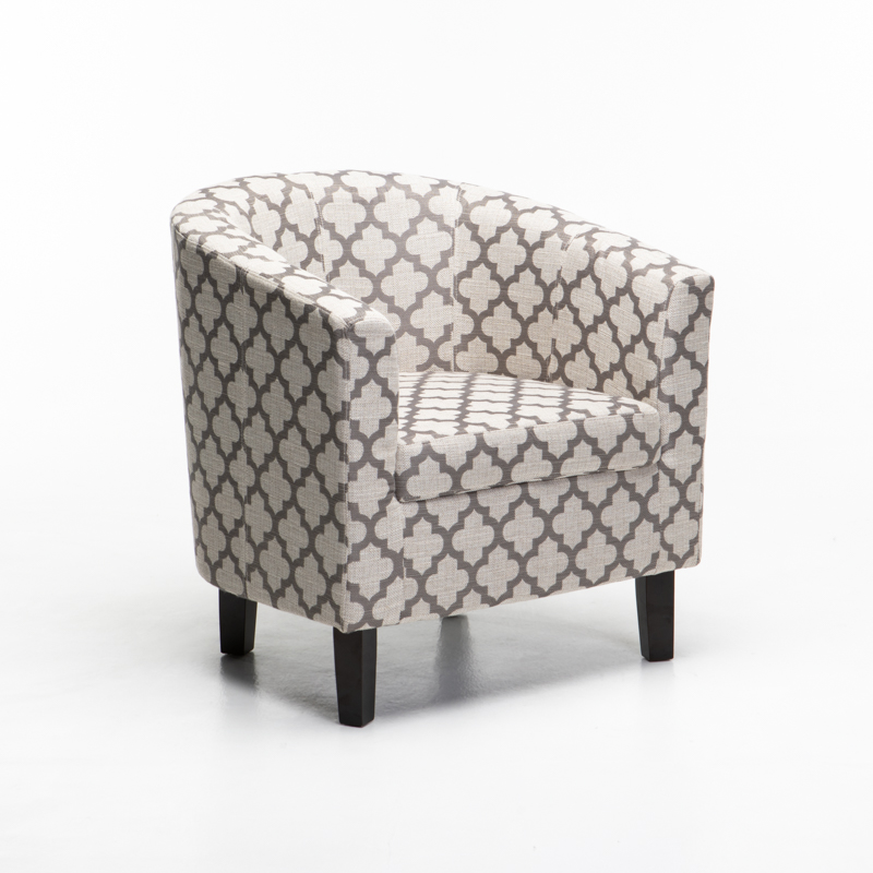 ZOE FABRIC TUB ARMCHAIR