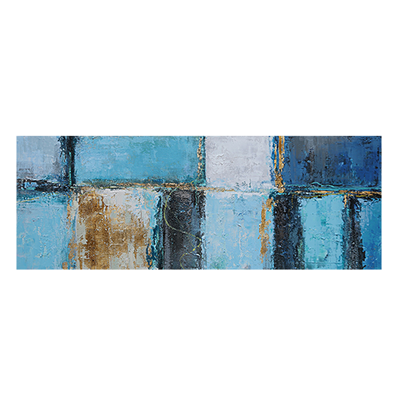 ART YA - BLUE BRICKS 150x50