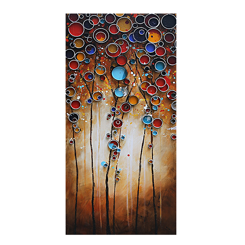 ART YB - BUBBLES OF TREES 60x120