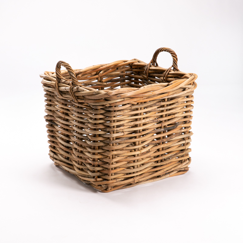 GIANT SQUARE BASKET - CL WEAVE