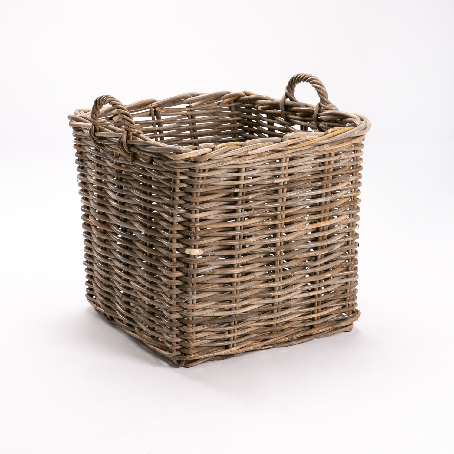 GIANT SQUARE BASKET - KUBU WEAVE