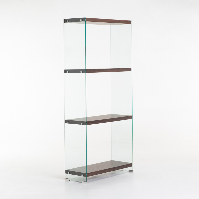 IVY 10MM TEMPERED GLASS BOOKCASE
