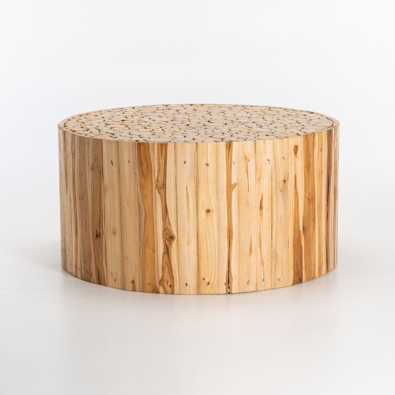 ARCH 90cm ROUND COFFEE TABLE