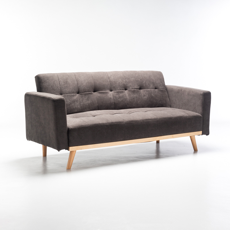 ENZO FABRIC CONVERTIBLE COUCH