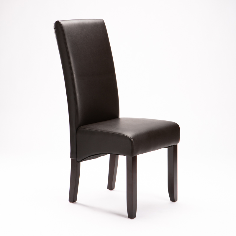 REGAL BONDED LEATHER DINING CHAIR