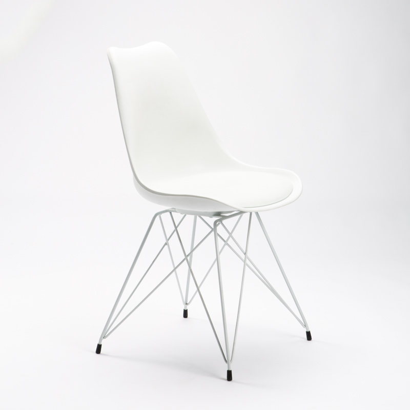 Emily White Leg Chair