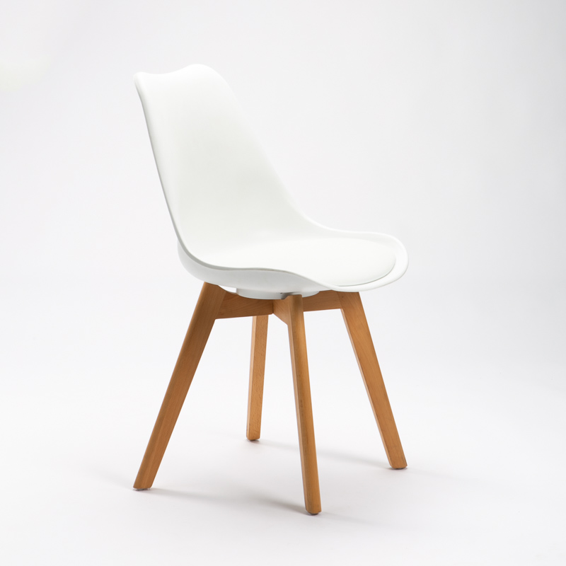 Emily Wooden Leg Chair