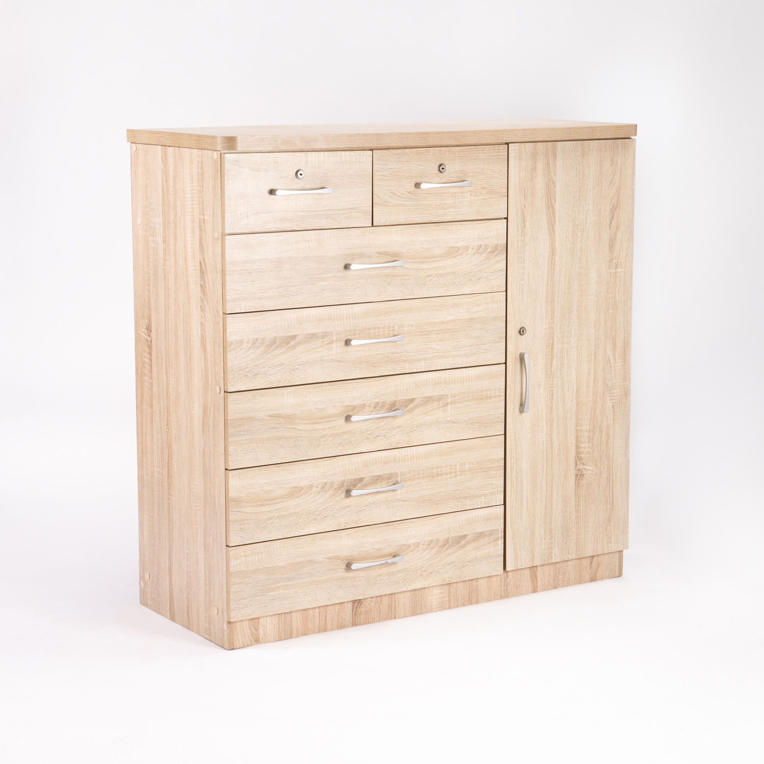 TITAN 7 DRAWER 1 DOOR CHEST