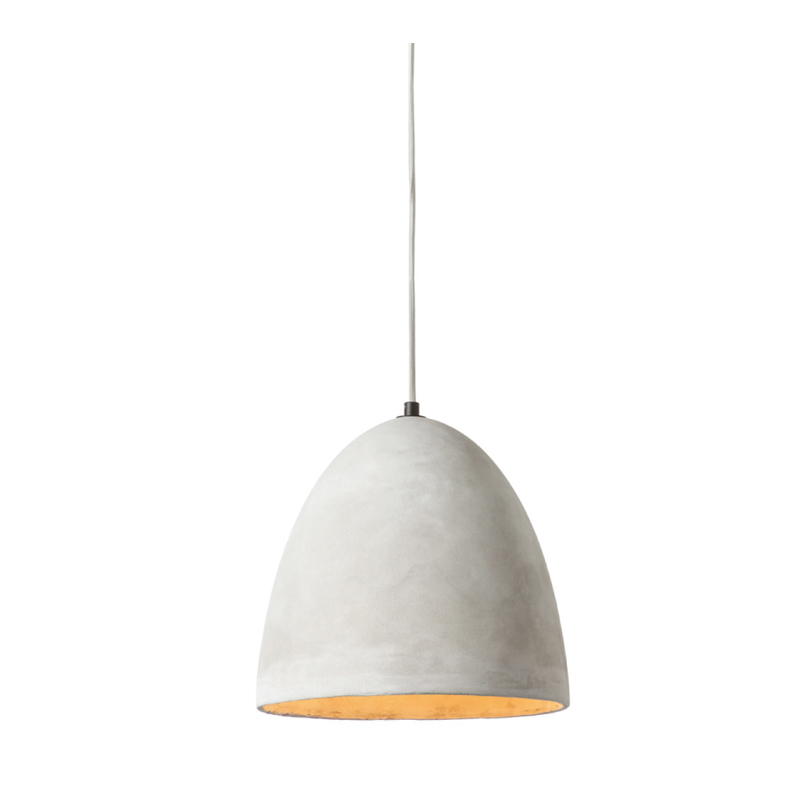 HANGING LIGHT-SINGLE CONCRETE PENDANT