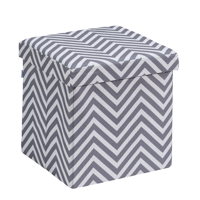KIA FABRIC SINGLE OTTOMAN