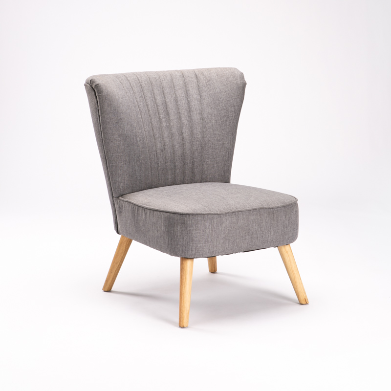 SHELL FABRIC CHAIR