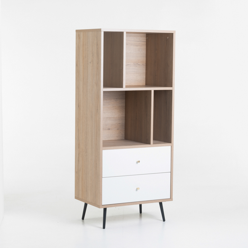 MONZA 2 DRAWER MULTI SHELF UNIT